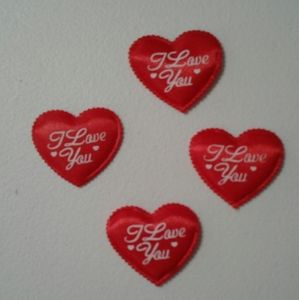 FOUR QUILTED HEARTS